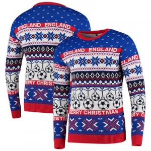 England Fairisle Christmas Jumper - Multi - Unisex