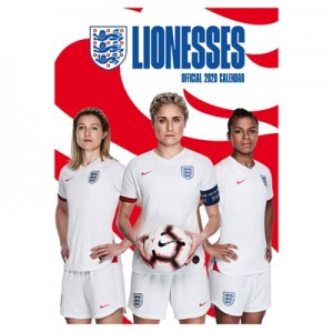 England Lionesses Official 2020 Calendar