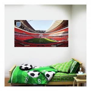 England Stadium Wall Sticker 90x50cm