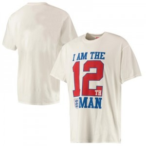 England 12th Man T Shirt - Multi - Mens