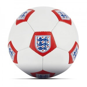 England Football - White/Red - Size 5