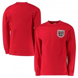 England World Cup 1960s T-Shirt - Red