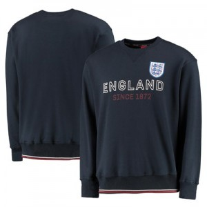 England Football Sweat - Navy - Mens