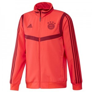 FC Bayern Pre Match Jacket - Red