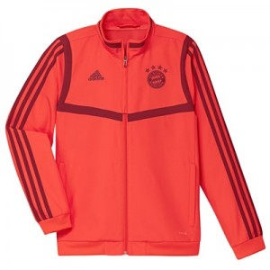 FC Bayern Pre Match Jacket - Red - Kids