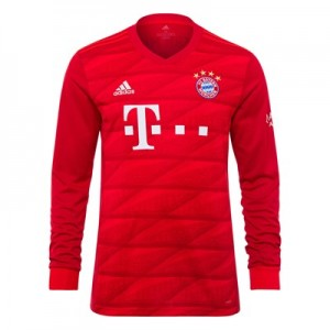 FC Bayern Home Long Sleeve Shirt 2019-20