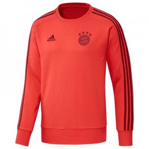 FC Bayern Training Sweat Top - Red