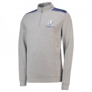 The 2018 Ryder Cup Peter Millar Trent Crown Comfort Interlock - Light Grey