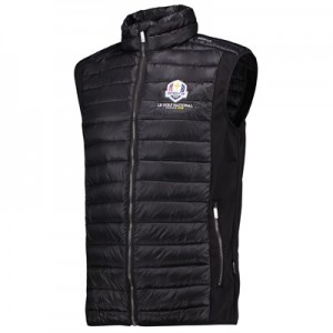 The 2018 Ryder Cup abacus Cornwall Padded Vest - Black