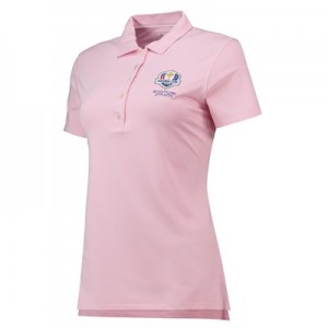 The 2020 Ryder Cup Peter Millar Perfect Fit SS Polo - Pink - Womens