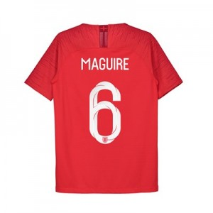 England Away Vapor Match Shirt 2018 - Kids with Maguire 6 printing