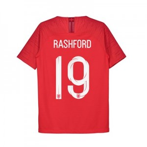 England Away Vapor Match Shirt 2018 - Kids with Rashford 19 printing