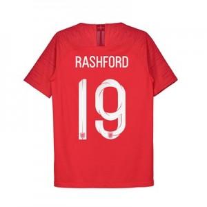 England Away Vapor Match Shirt 2018 - Kids with Rashford 19 printing