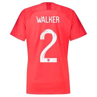 England Away Stadium Shirt 2018 - Womens with Walker 2 printing
