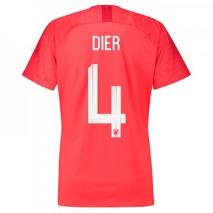England Away Stadium Shirt 2018 - Womens with Dier 4 printing