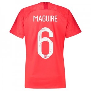 England Away Stadium Shirt 2018 - Womens with Maguire 6 printing