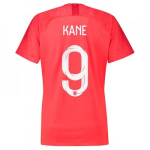 England Away Stadium Shirt 2018 - Womens with Kane 9 printing