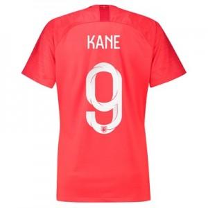 England Away Stadium Shirt 2018 - Womens with Kane 9 printing
