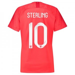 England Away Stadium Shirt 2018 - Womens with Sterling 10 printing