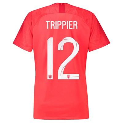 England Away Stadium Shirt 2018 - Womens with Trippier 12 printing