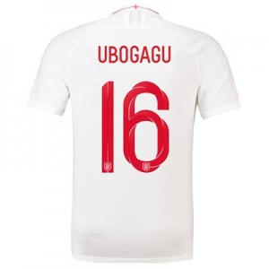 England Home Vapor Match Shirt 2018 with Ubogagu 16 printing