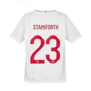 England Home Vapor Match Shirt 2018 - Kids with Staniforth 23 printing