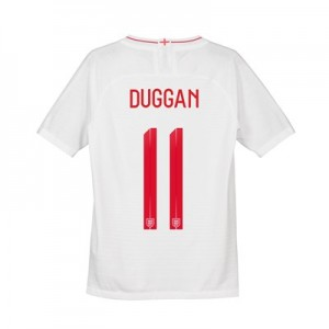 England Home Vapor Match Shirt 2018 - Kids with Duggan 11 printing