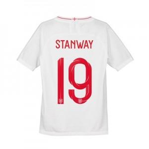 England Home Vapor Match Shirt 2018 - Kids with Stanway 19 printing