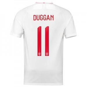 England Home Stadium Shirt 2018 with Duggan 11 printing