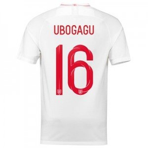 England Home Stadium Shirt 2018 with Ubogagu 16 printing