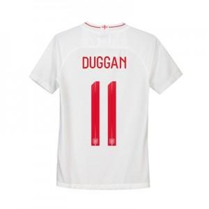 England Home Stadium Shirt 2018 - Kids with Duggan 11 printing