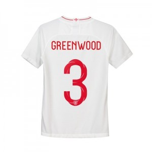 England Home Stadium Shirt 2018 - Kids with Greenwood 3 printing