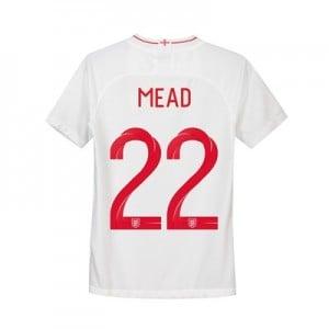 England Home Stadium Shirt 2018 - Kids with Mead 22 printing