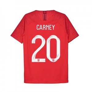 England Away Vapor Match Shirt 2018 - Kids with Carney 20 printing
