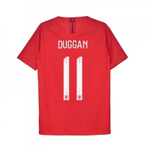 England Away Vapor Match Shirt 2018 - Kids with Duggan 11 printing
