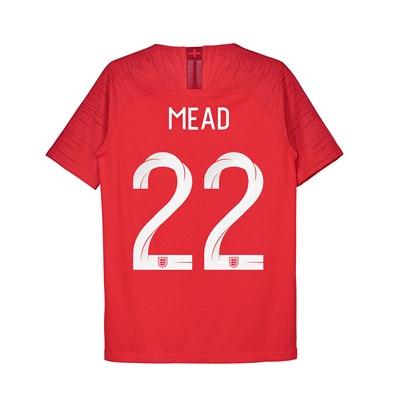 England Away Vapor Match Shirt 2018 - Kids with Mead 22 printing