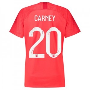 England Away Stadium Shirt 2018 - Womens with Carney 20 printing