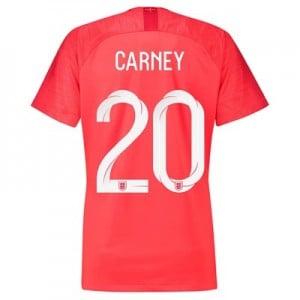 England Away Stadium Shirt 2018 - Womens with Carney 20 printing