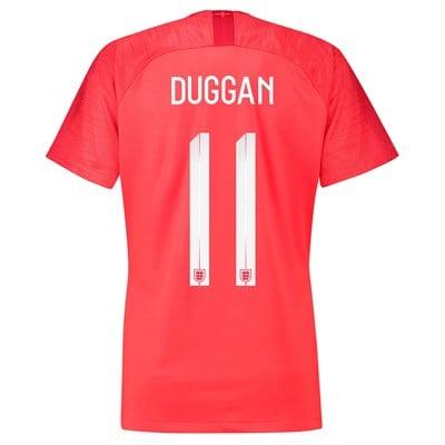 England Away Stadium Shirt 2018 - Womens with Duggan 11 printing