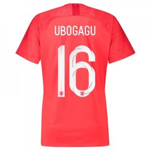 England Away Stadium Shirt 2018 - Womens with Ubogagu 16 printing