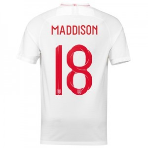 England Home Stadium Shirt 2018 with Maddison 18 printing