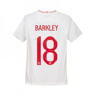 England Home Stadium Shirt 2018 - Kids with Barkley 18 printing