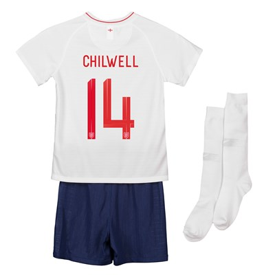 England Home Stadium Kit 2018 - Infants with Chilwell 14 printing