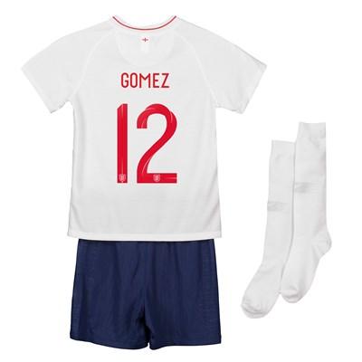 England Home Stadium Kit 2018 - Infants with Gomez 12 printing