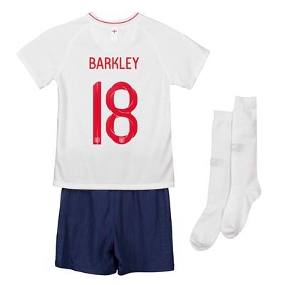 England Home Stadium Kit 2018 - Infants with Barkley 18 printing