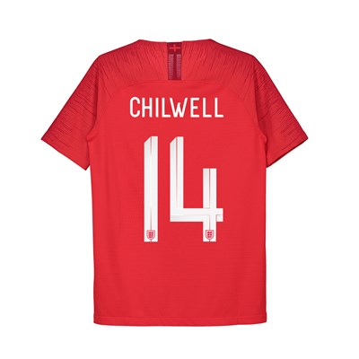 England Away Vapor Match Shirt 2018 - Kids with Chilwell 14 printing