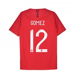 England Away Vapor Match Shirt 2018 - Kids with Gomez 12 printing