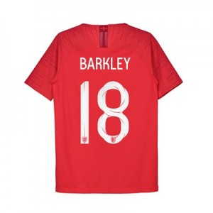 England Away Vapor Match Shirt 2018 - Kids with Barkley 18 printing