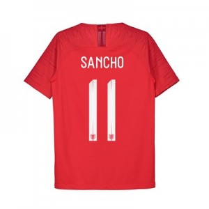 England Away Vapor Match Shirt 2018 - Kids with Sancho 11 printing