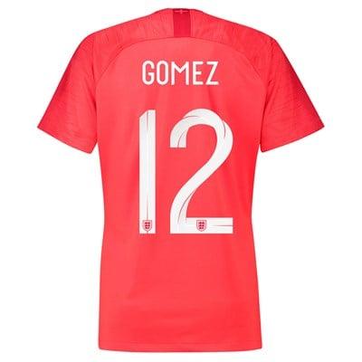 England Away Stadium Shirt 2018 - Womens with Gomez 12 printing